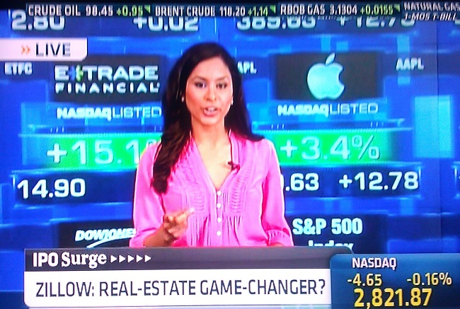 Seema Mody on CNBC Set