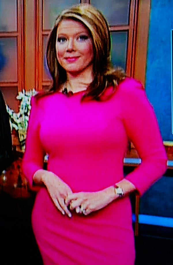 Picture of Trish Regan in Red Dress - 2010