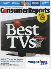 March 2009 Consumer Reports Cover