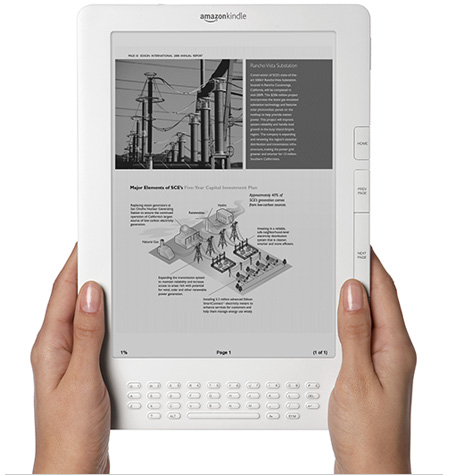 "Kindle DX Wireless Reading Device with 9.7"" Display"